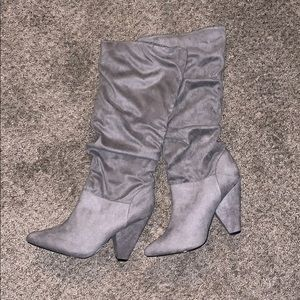 Charolette Russe Suede Grey Boots